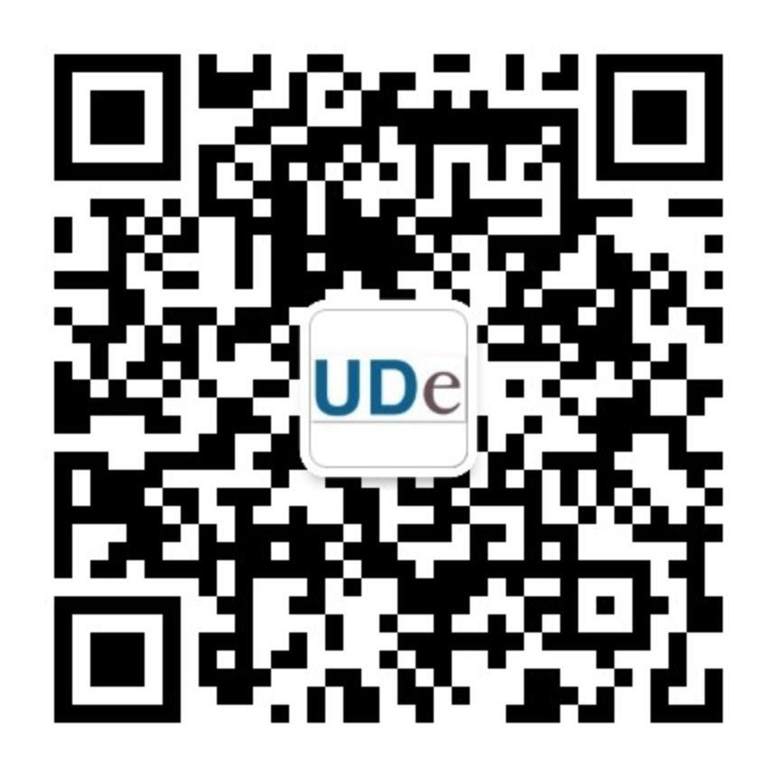 UDe Wechat qrcode