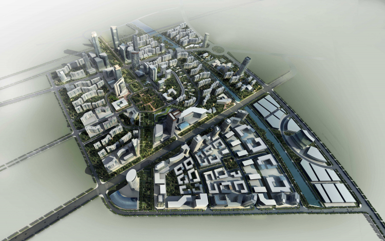 01 本溪新城城市设计 New Benxi City Urban Design