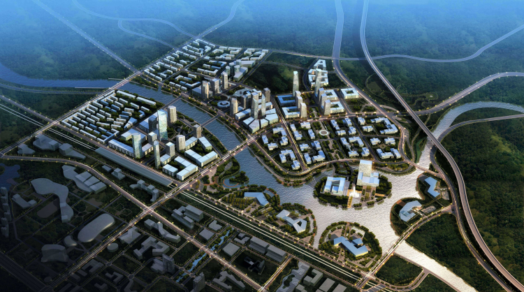 01 本溪新城日月岛片区城市设计 New Benxi City Sun Moon Island Urban Design