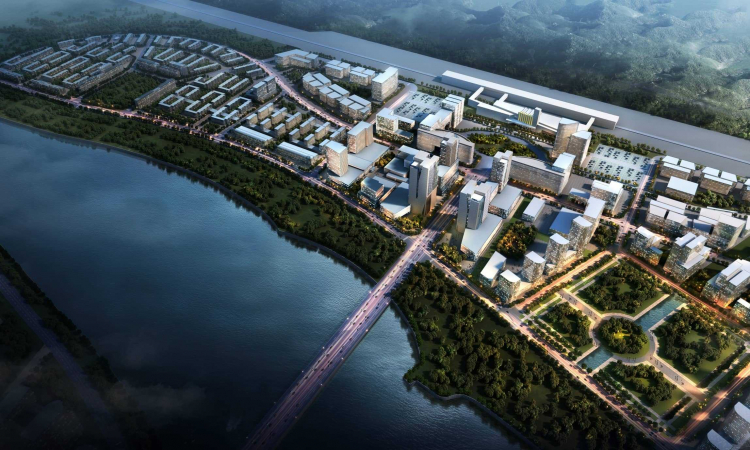 01 本溪桓仁县城市设计 Benxi City Huanren County Urban Design