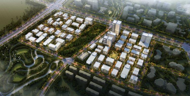 01 武汉软件新城四五期 Wuhan Software Park Phase 45