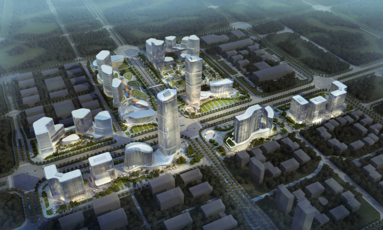 01 西安新中心城市规划 Xian City Center Conceptual Planning