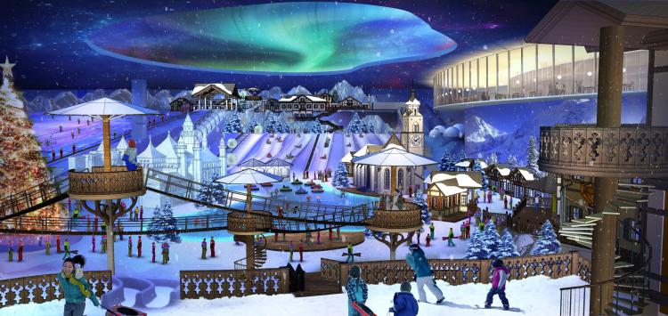 02 长沙湘江欢乐城冰雪世界 Changsha Xiangjiang Joy City Ice and Snow World