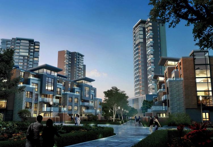 02 青岛蓝色生物医药产业园商住配套区 Qingdao Blue Biotech Park Living Area
