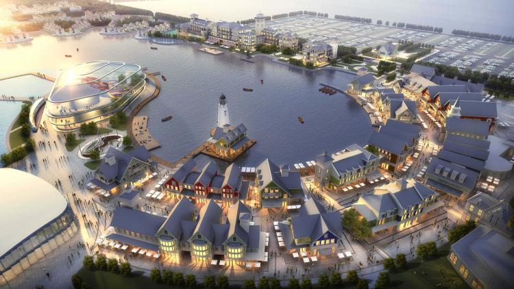03 大连复州湾海盐主题乐园小镇 Dalian Fuzhou Bay Salt Theme Park