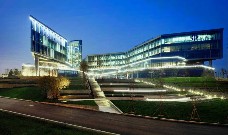 04 大连华宇办公楼景观设计 Dalian Huayu Office Building Landscape
