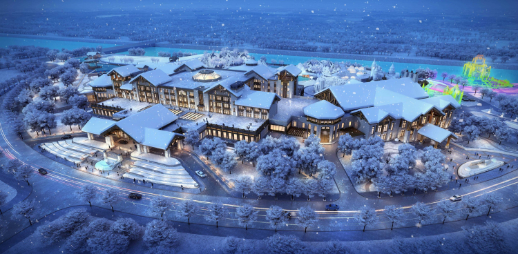 AR 01 哈尔滨枫叶小镇温泉度假村 Harbin Maple Leaf Hot Spring Resort
